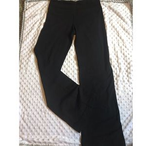 Lululemon black flare yoga pants